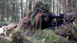 Sniper training.