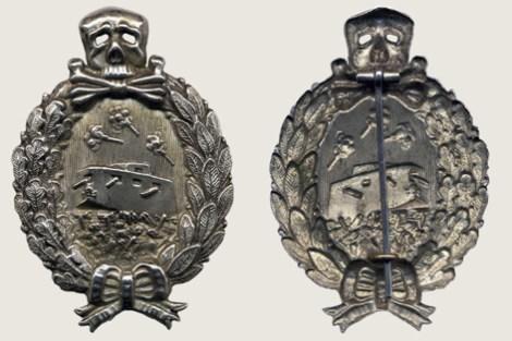 Tank Crew Commemorative Badge