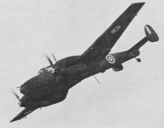 A captured Bf 110C-4 in the service of No. 1426 Flight RAF.