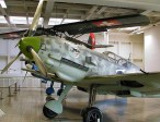 A cannon-armed Bf 109E, showing the 20 mm MG FF installations in the wing.