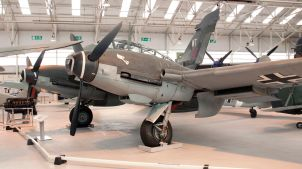 Me 410, RAF Museum Cosford, 2009.