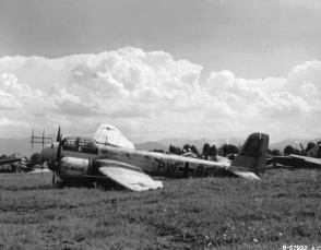 Junkers JU-88 G damaged.