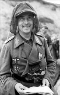 Oberfeldwebel Karl Schwappacher.