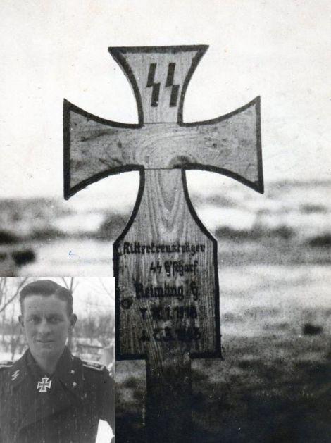 Grave of Oberscharführer Hans Reimling.
