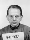 Ohlendorf at the Nuremberg Trials.