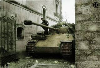 Panther in Italy, 1944.
