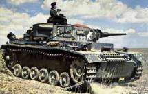 Panzer III in the field.
