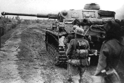 Panzer IV of the 4th Panzer Division.