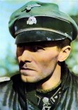 SS-Obersturmbannführer Joachim Peiper in Austria, April 1945.