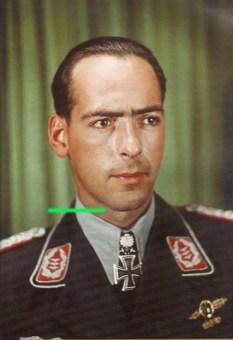 Dietrich Peltz as an Oberst.