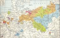 Prussian territorial acquisitions in the 18th century.