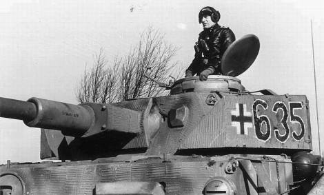 Panzer IV of the 12th SS Hitlerjugend, 1943.