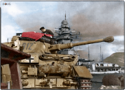 Panzer IV Ausf.G of the 25th Panzer-Division at the Harbour of Toulon, France during Operation Lila November 1942.