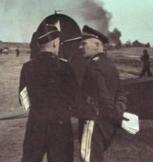 Richard Koll (Panzertruppen) and Wolfram Freiherr von Richthofen (Luftwaffe).