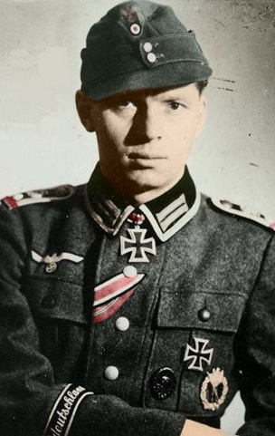 Oberfeldwebel Hans Roeger