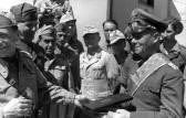 Rommel receives an Italian award.