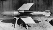 The Ruhrstahl Ru 344 X-4 was a wire guided air-to-air missile designed by Germany during World War II. The X-4 did not see operational service and thus was not proven in combat, but inspired considerable post-war work around the world and was the basis for the development of several ground-launched anti-tank missiles, including the Malkara.