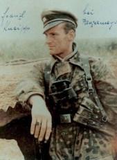 SS-Untersturmführer Franz-Josef Kneipp in Normandy.