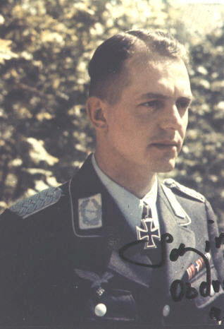 Gerhart Schirmer as a Major.