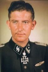 Walter Schmidt as SS-Hauptsturmführer