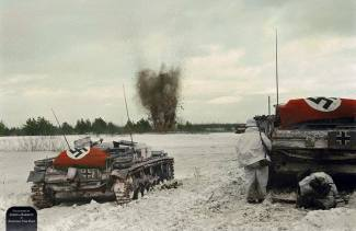 Somewhere on the Eastern Front, 1941-1942.