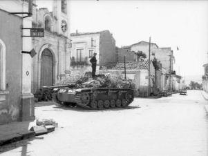 Stug III in Italy.