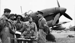Stuka crews, Arras, France 1940.