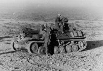 Sturmpanzer II Bison of the Afrika Korps,1942.