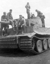 Tiger 921 of 3rd SS-Panzer Division Totenkopf.