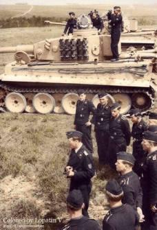Tiger crews in training.