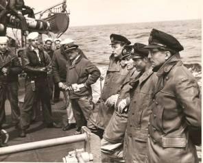 U-Boat officers after being captured.