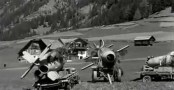 In the final stages of the war in Europe, the allies discover remains of the German secret weapon program in the Bavarian Alps- Ruhrstahl Ru 344 X-4.