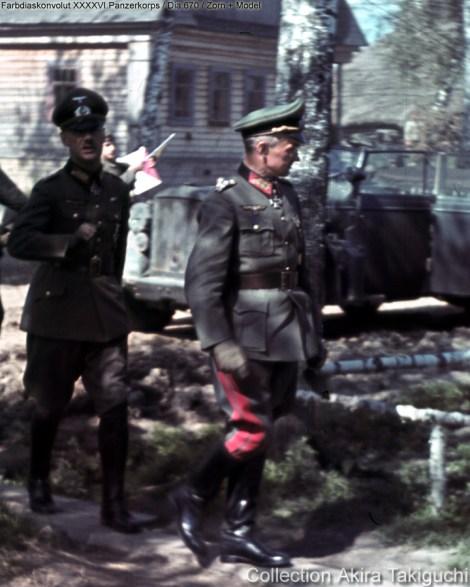 General der Infanterie Hans Zorn & Generalfeldmarschall Walter Model
