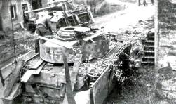 Panzer IV and Panther, August 1944, Western Front.