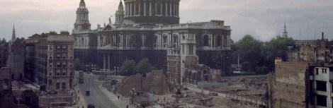 Battle of Britain leftover damage.
