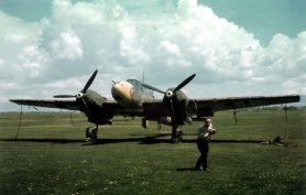 Bf 110 Fighter-Bomber in the Balkan Campaign.