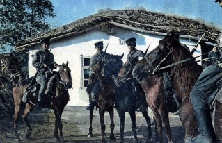 Cossacks serving with Germans. On 22 June 1941, Nazi Germany launched Operation Barbarossa and attacked the USSR, thus bringing Russia into World War II. During the attack some ROVS, especially the Cossack émigré generals Pyotr Krasnov and Andrei Shkuro, asked Nazi Propaganda Minister Joseph Goebbels's permission to fight beside Nazi Germany against Communist Russia. Goebbels welcomed their idea and by 1942 General Krasnov and General Shkuro had mustered a Cossack force — mostly from Red Army POWs captured by the Wehrmacht — who would be under the command of General Helmuth von Pannwitz.