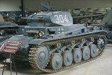 Panzer 2 at the Musée des Blindés - Tank Museum - France.