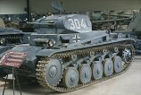 Panzer 2 at the Musée des Blindés - Tank Museum - France.