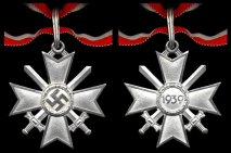Knights Cross for the War Merit Cross with Swords