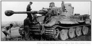 Tiger 1 on the Eastern Front 1942.