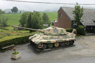 King Tiger 213 - December 44 Historical Museum - La Gleize, Belgium