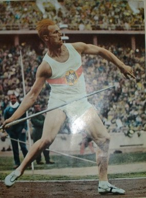 Gerhard Stoeck at the 1936 Olympic games.