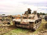 StuG III at the 2014 War and Peace Revival Event - England.