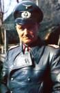 Walter Model in leather coat.