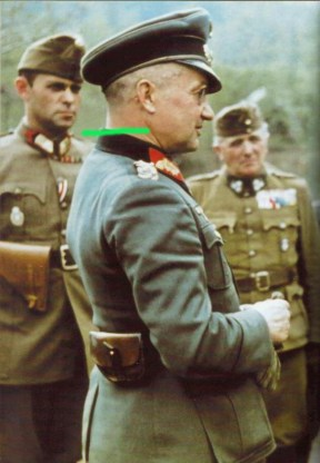 Walter Model and Hungarian officers,
