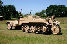 Sd.Kfz. 2 - Kettenkrad after being restored.