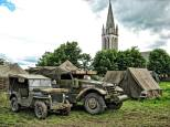 Normandy 70th Anniversary of D-Day- Dog Green Camp at Omaha Beach -2014