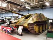 Jadgpanther at the The Bovington Tank Museum.