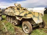 Sd. Kfz. 250 at the 2014 War and Peace Revival Event - England.